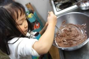 子どもと一緒にお菓子を作ろう1