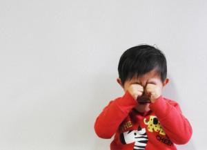 智恵のついた2歳児の叱り方1